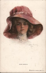 Miss America. Painted portrait by Philip Boileau 1910