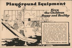 Sears, Roebuck and Co. - Playground Equipment - Keep the Children Happy and Healthy