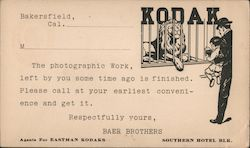 Kodak Baer Brothers - Your Pictures are Ready