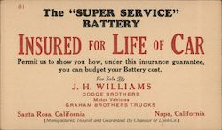 "The ""Super Service"" Battery"