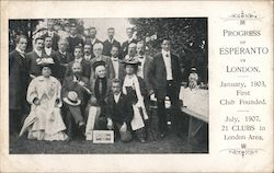 July 1907 Esperanto Club
