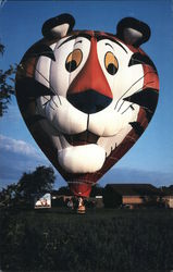 Tony the Tiger Hot-Air Balloon Postcard