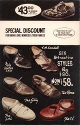 Classic Mold Shoe, Inc. Postcard