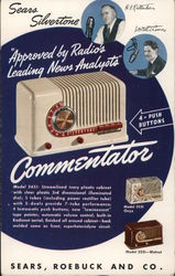 Sears Silvertone Commentator Postcard