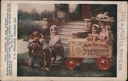 Berry Brothers Celebrated Varnishes and Architectural Finishes - for sale by J.E.Dillard Postcard