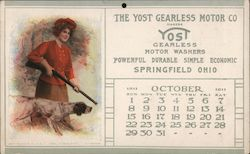 The Yost Gearless Motor Co Postcard