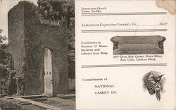 National Casket Company - Jamestown Exposition, 1907 Postcard