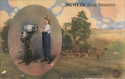 Rumely Products Company, Inc. - Cream Separator Postcard