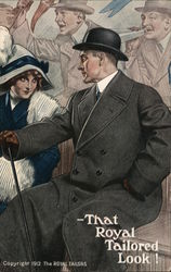 Royal Tailors 1912 Postcard