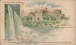 Shredded Wheat - Biscuit and Triscuit Postcard
