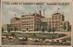 """The Home of Shredded Wheat"" Postcard"