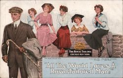 The Royal Tailors Postcard