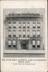 The Fitch Ideal Dandruff Cure Co's Building Postcard
