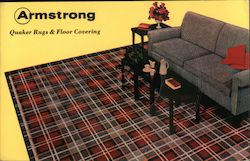 Armstrong Quaker Rugs & Floor Coverings - 78 r.p.m. Record Postcard