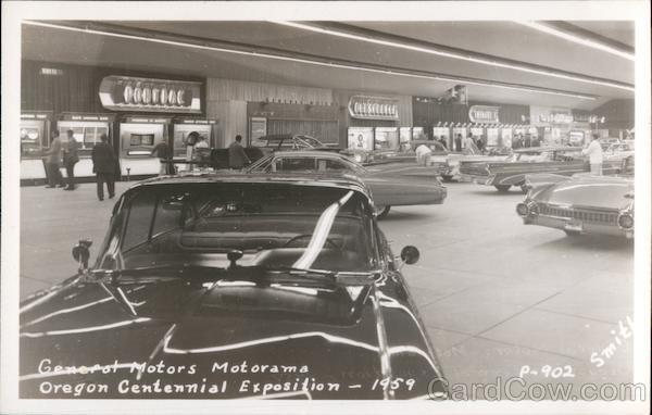 General Motors Motorama, Oregon Centennial Exposition - 1959