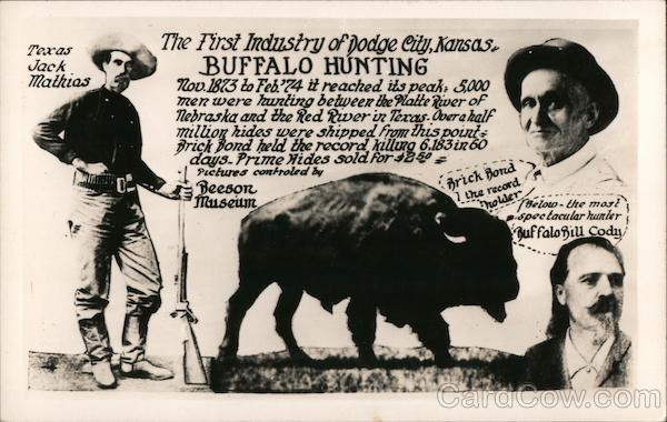 The First Industry of Dodge City, Kansas: Buffalo Hunting