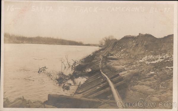 Santa Fe Track - Cameron's Bluff, Kaw River Lawrence Kansas