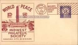 Midwest Philatelic Society 1962 Postcard
