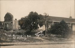 St. Catherine's - First Convent in California Postcard