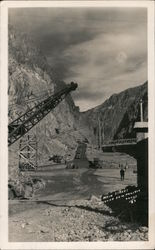 Main Street Hoover Dam Project Postcard