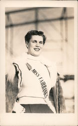 Miss Fairbanks Ice Carnival 1938 Postcard