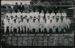 Three-Quarter Century Softball Club - 1958