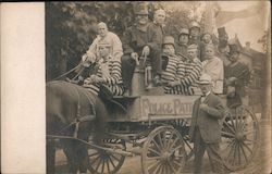 """Police Patrol"" Parade Float, Convicts Postcard"