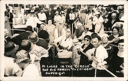Dr. Locke in the Circle and His Famous Treatment Postcard