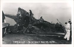 TWA Crash L.A. Airport Nov. 25, 1948