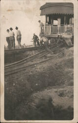 Men Working on the Railroad