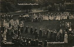 Arrival of Queen Elizabeth, The Bath Historical Pageant, 1909 Postcard