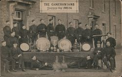 The Cameronians Trophies Won 1883-94 Scottish Rifles