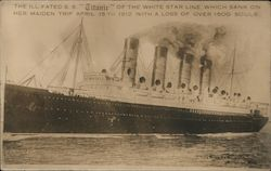 The Ill-Fated S. S. Titanic