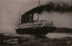 The Cunard Liner Lusitania