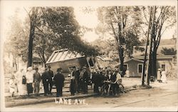Lake Avenue, June 16, 1917 Cyclone Postcard