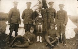Scottish Soldiers Postcard