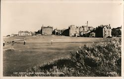 1st Green, Old Course, St. Andrews Postcard