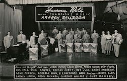 Lawrence Welk and his Champagne Music; Aragon Ballroom, Lick Pier, Ocean Park, Calif. Postcard