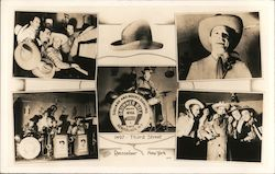 Drummer Bill and his Hill Billies - Square and Round Dancing 1497 Third Street Postcard