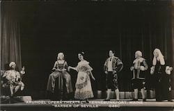"The ""Barber of Seville"" in the Arundel Opera Theater Postcard"