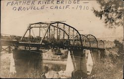 Feather River Bridge Postcard