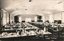 Mess Hall - Camp Callan Postcard