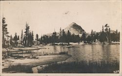 Lake & Mountain Postcard