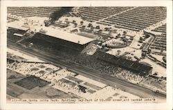 Air-View, Santa Anita Park Postcard