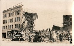 San Marco Bldg - Santa Barbara Earthquake June 29, 1925