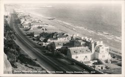 Beach Homes of the Motion Picture Stars Postcard