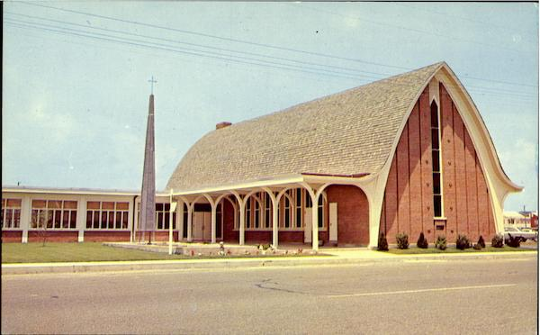 First Presbyterian Church, Philadelphia Ave. 13th Street Ocean City Maryland