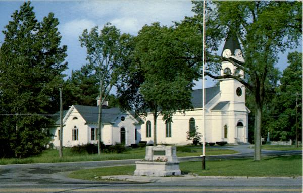 Alfred Congregational Church And Conant Chapel Maine