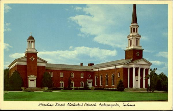 meridian street methodist church indianapolis  in