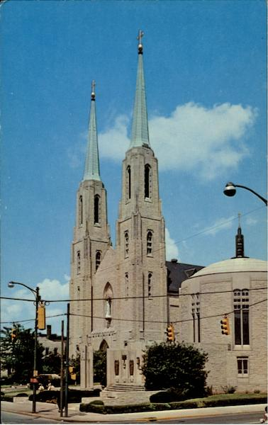 Cathedral Of Immaculate Conception And Mac Dougal Chapel Fort Wayne Indiana